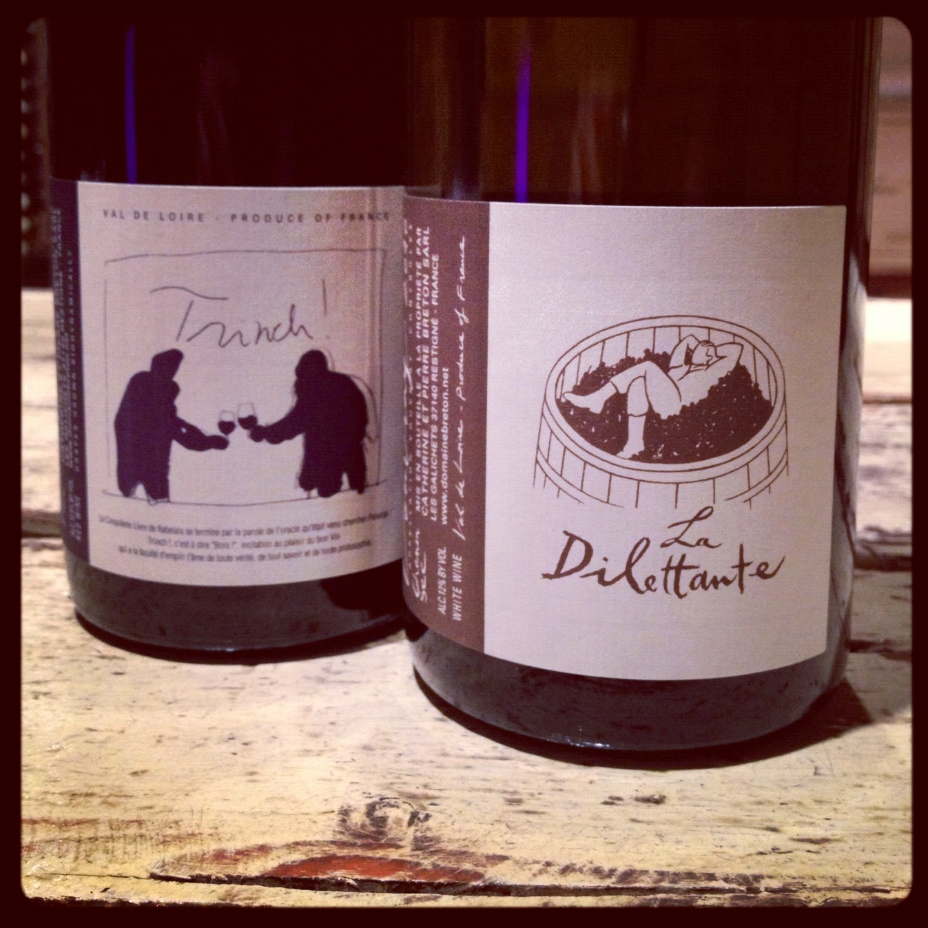 Free Tasting of Domaine Breton Wines: Vouvray La Dilettante and Bourgeuil Trinch