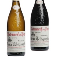 Domaine Du Vieux Telegraphe From Châteauneuf-du-Pape In Rhone Valley