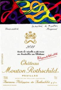 2011 Chateau Mouton Rothschild: New Label Release