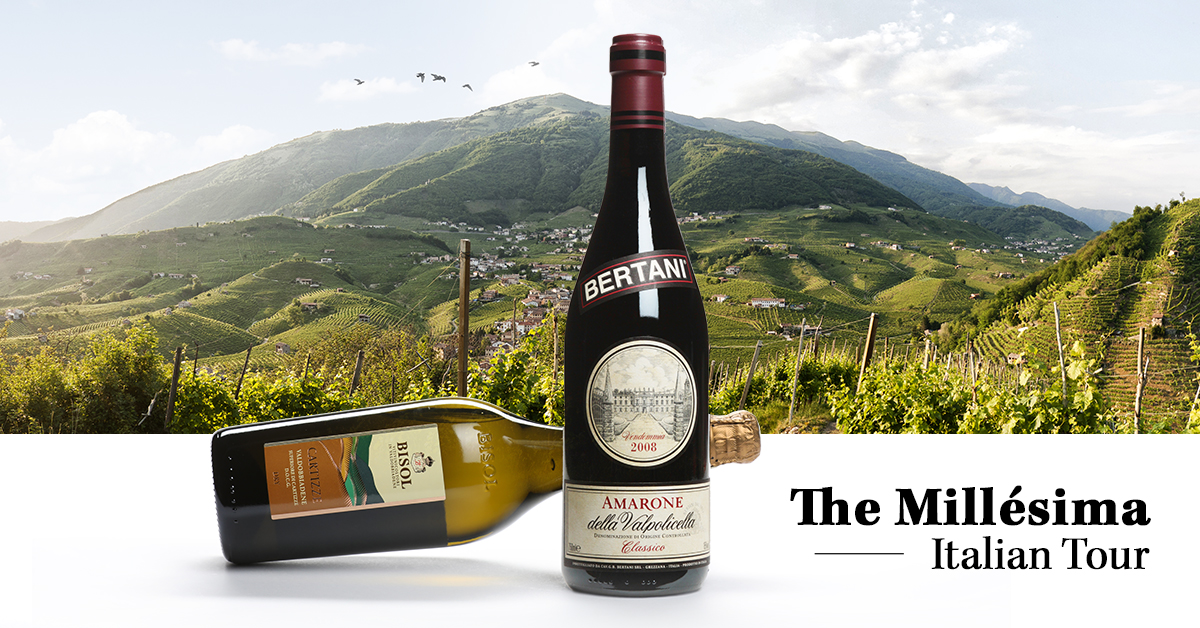 The Millesima Wine Tour Veneto products