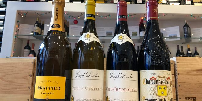 French Dazzlers Wine Tasting on Thursday, December 20th