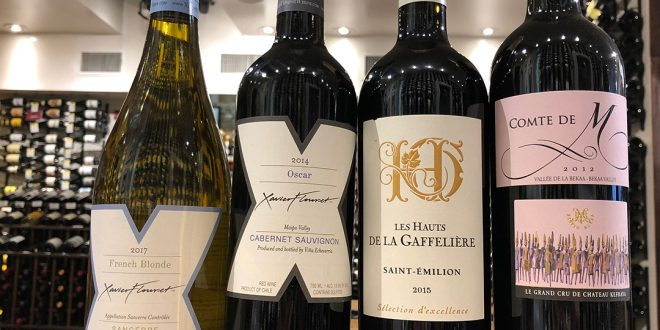 Mixed Case: French, Chilean and Lebanese Wines